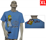 804302 - T-Shirt Homer on a t-shirt - tg XL